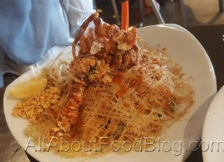 Soft Shell Crab Pad Thai from Good Feeling Thai