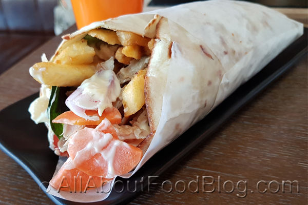 Chicken Wrap from The Eate