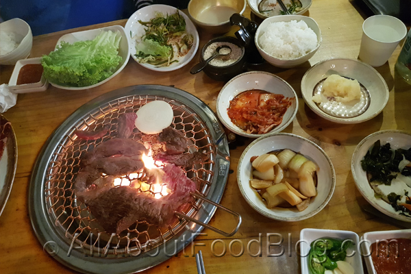 z0a Burner and Side Dish from Jang Ta Bal