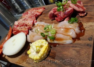 z2a meat platter from Daijobu Japanese BBQ