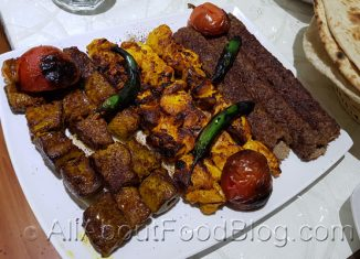z5 Skewers from Bakhtar Restaurant