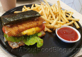 Rice Burger from Koku Culture Cafe